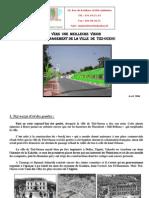 Etude-Réflexion pour l'aménagement paysager de la ville de Tizi-Ouzou