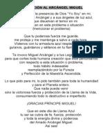 web - Invocación al arcangel Miguel