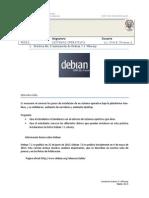 Practica No.5 Instalación de Debian 7.1