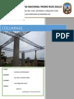 Trabajo de Columnas Resistencia de Materiales II
