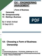 1A Choosing Business