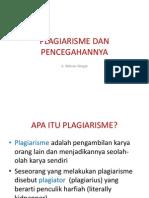 FI Modul-9 Plagiarisme Dan Pencegahannya