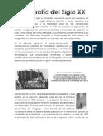 Historia de La Fotografia en El Siglo Xx