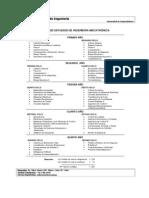 Plan de Estudios Ing Mecatronica