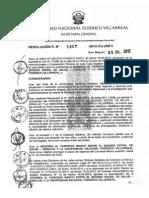 Resolucion R Nro 1467 2012 CU UNFV