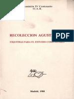 Comision IV Centenario - Recoleccion Agustiniana, Esquemas Para El Esudio Comunitario