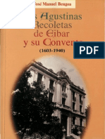 Bengoa, Jose Manuel - Las Agustinas Recoletas de Eibar y Su Convento