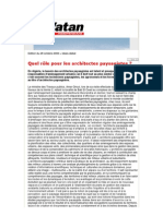 Article-Quel rôle pour les architectes paysagistes