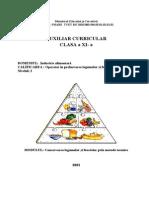 Industrie Alimentara Clasa a Xi-A Conservarea Legumelor Si Fructelor