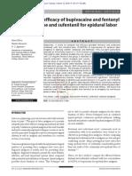 29.1.Comp-Eficacia Bupivacaina Fentanil Con Bupivacaina Sufentanil Analgesia Obstetrica Epidural