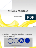 Dyeing & Printing Session 9