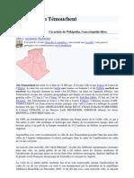 Internet-article de Wikipédia, Wilaya d'Aïn Témouchent