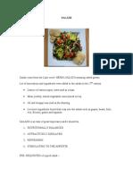5thsem(Fp)Salads