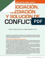 Mediacion de Conflictos.