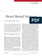 Hotel Brand Strategy Article