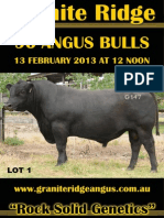 Granite Ridge Angus 2013 Catalogue