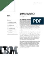 IBM Worklight v6.0 - Technical White Paper, 2013