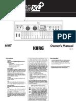 Usa Microkorg Xl Plus Om e1