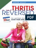 Arthritis Reversed Book