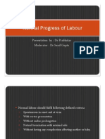 Normal Progress of Labour
