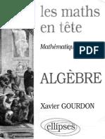 Les Maths en Tete ALGEBRE
