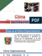 Clima Organizacional 2013-i