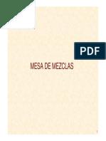 Mesa Mezclas