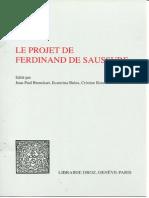 """Deux types d'entité et deux modèles de """"système"""" chez Ferdinand de Saussure"""