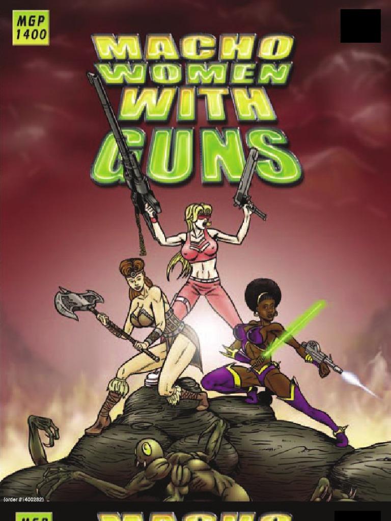 Maturesexiwomen Busty Babes With Guns