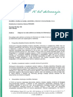 Odgovor Na Zahtevo Za Dostop Do Informacij z Dne 30.8.2013