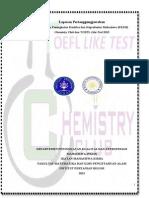 Laporan Pertanggung Jawaban Chemistry Club dan TOEFL Like Test 2013 - IMASIKA IPB