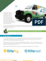 FiltaFry & FiltaCool Franchise Information Brochure