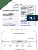 Usability Handout