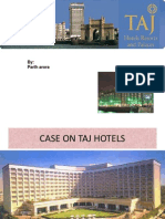 The Taj Group of Hotels Ppt