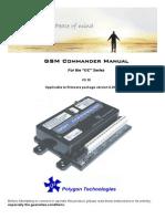 GSM Commander Manual