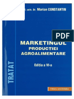 Marketingul Productiei Agroalimentare-Marian Constantin