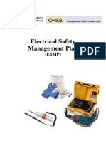 Electrical Safety Management Plan University Queensland