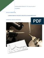 Planificacion Laboratorio de Tecnicas Analiticas Instrumentales