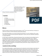 Ultracentrifuge - Wikipedia, The Free Encyclopedia