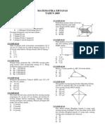 Materi SMP - Matematika