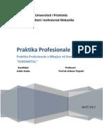 Praktika në EUROMETAL