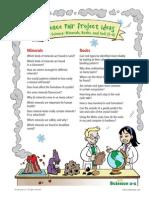 minerals rocks soil 3-4 sci fair proj ideas