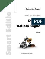 Rossini Daltuostellatosoglio Parte Coro