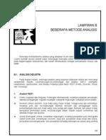 Lampiran B Contoh Metode Analisis