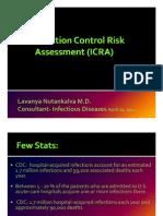 Dr. Lavanya -Infection Control Risk Assessment (ICRA)