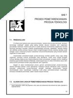Bab 7 Proses Pemetarencanaan Produk-Teknologi