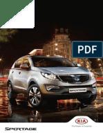 Kia Sportage Brochura
