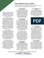 The Bradley Method® Course Content