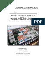 Estudio de Impacto Ambiental Hospital Chulucanas