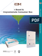 Consumer Distribution Box